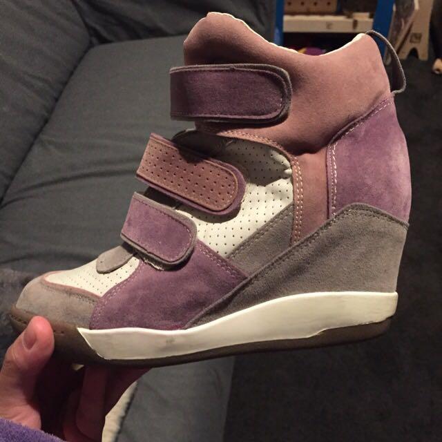 korean wedge shoessize 6