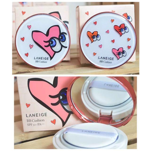 韓國LANEIGE蘭芝限量版大眼睛氣墊BB霜氣墊粉餅