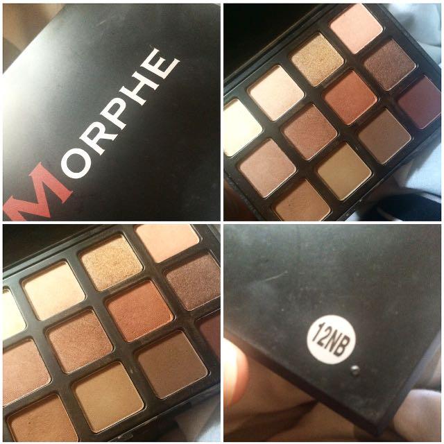 Morphe 12nb Palette