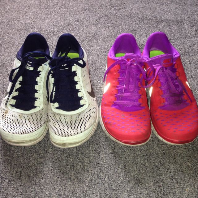 NIKE FREE 3.0 TWO PAIRS FOR $40
