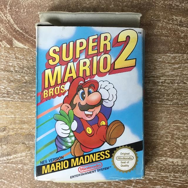 Nintendo NES (Original Packaging) + Games
