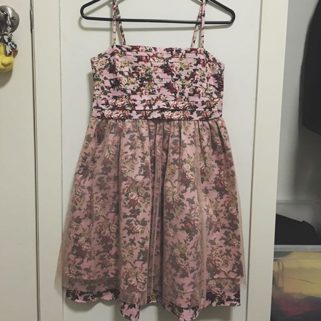 Ochirly Floral Crop Dress