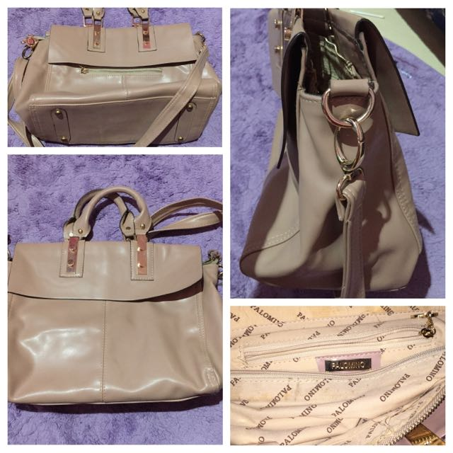 PALOMINO Nude Medium Handbag