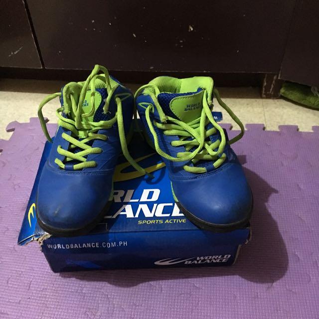 Preloved World Balance Boys Rubber Shoes