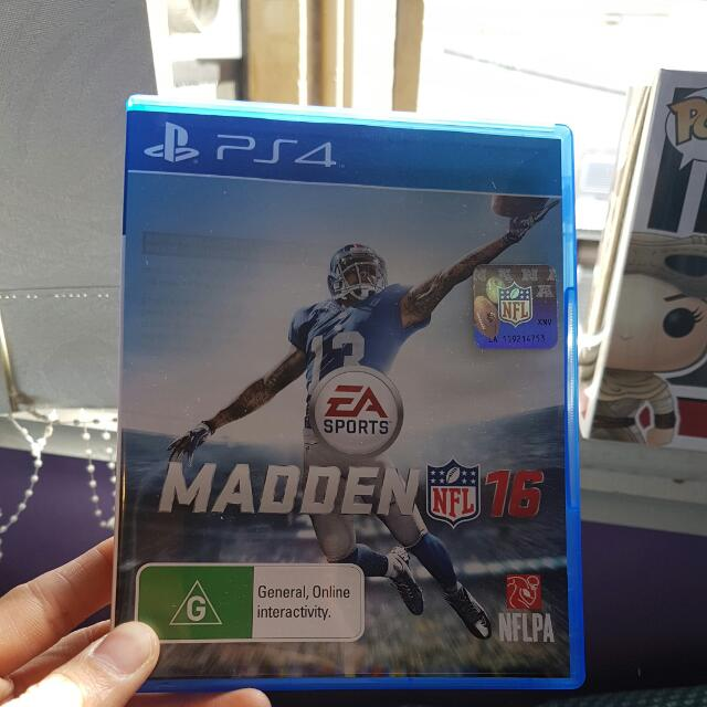 PS4 Madden 16