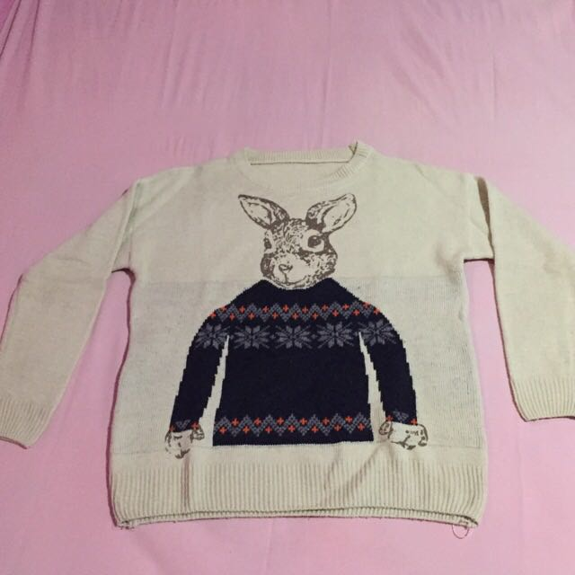 Rabbit Chocolate Sweater