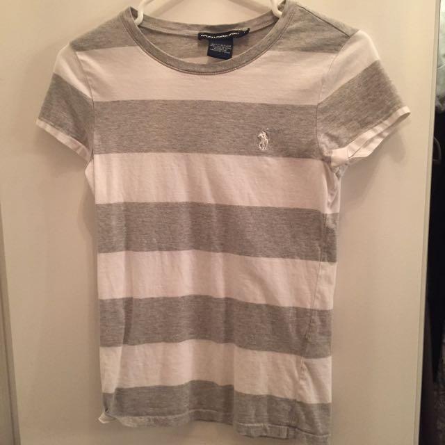 *reserved*Ralph Lauren Sports Tshirt In Strips