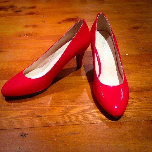 NEW RRP 139.95 Red Jo Mercer Heels