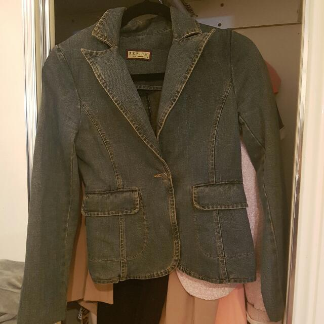 Review Jean Jacket Size XS AUD16