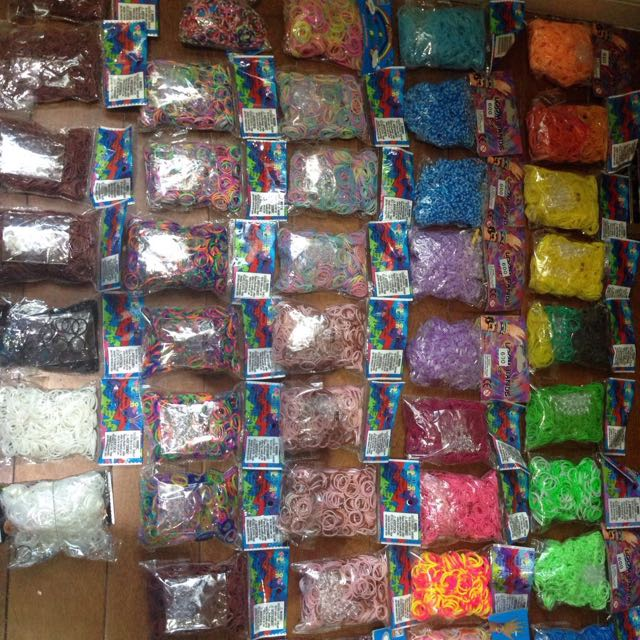 Rainbow  Loom Lot