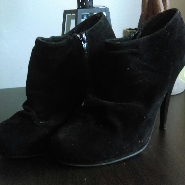 Spring Ankle Boots