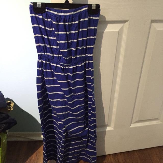 Strapless F21 Dress