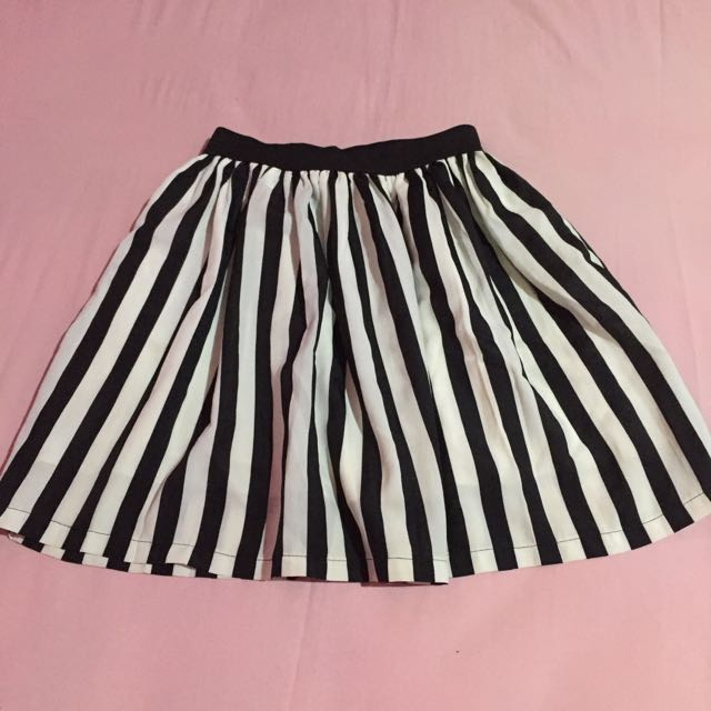 Stripes Rumple Skirt