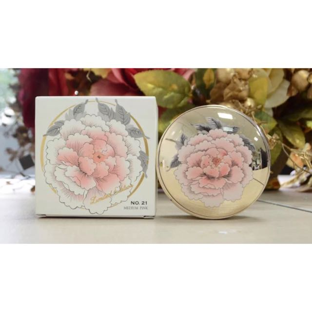 韓國雪花秀SULWHASOO限量版牡丹氣墊bb霜美白保濕遮瑕氣墊粉餅