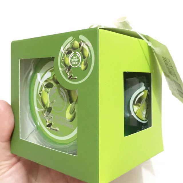 The Body Shop Gift Set Olive Travel Kit