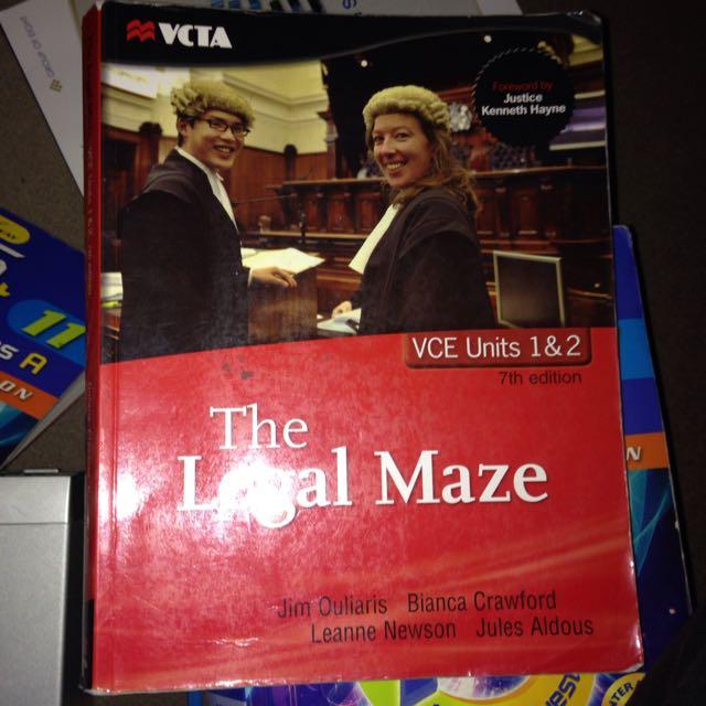 The Legal Maze Textbook