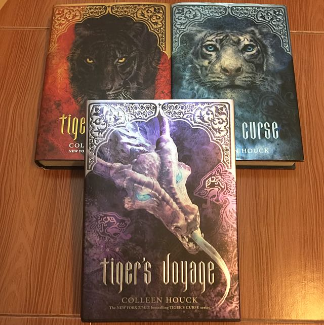 Tiger's doyage by Colleen Houck, Books & Stationery on Carousell