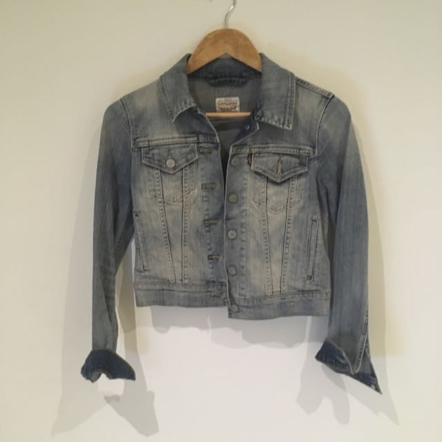 Tiny Cut Levis Denim Jacket