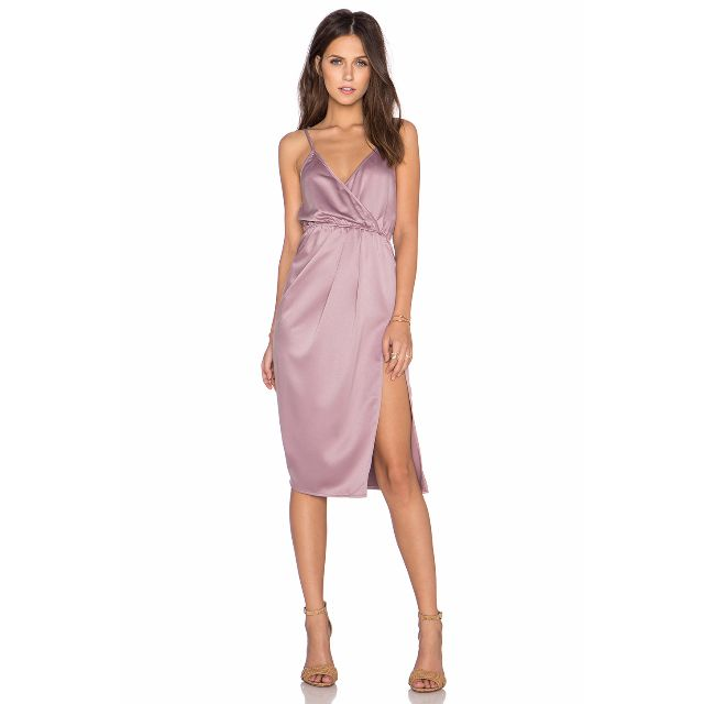 Toby Heart Ginger Indie Slip SATIN Dress S