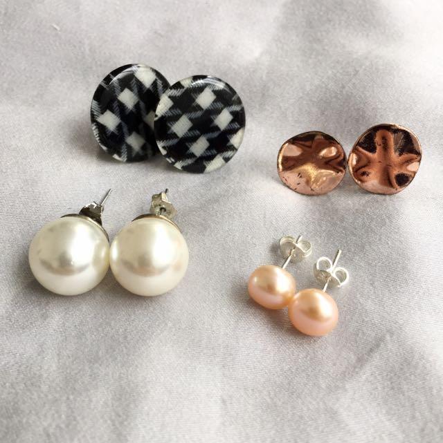 Various Stud Earrings