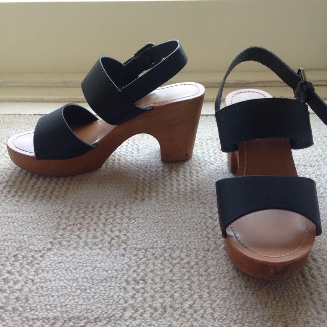 Wooden Heels