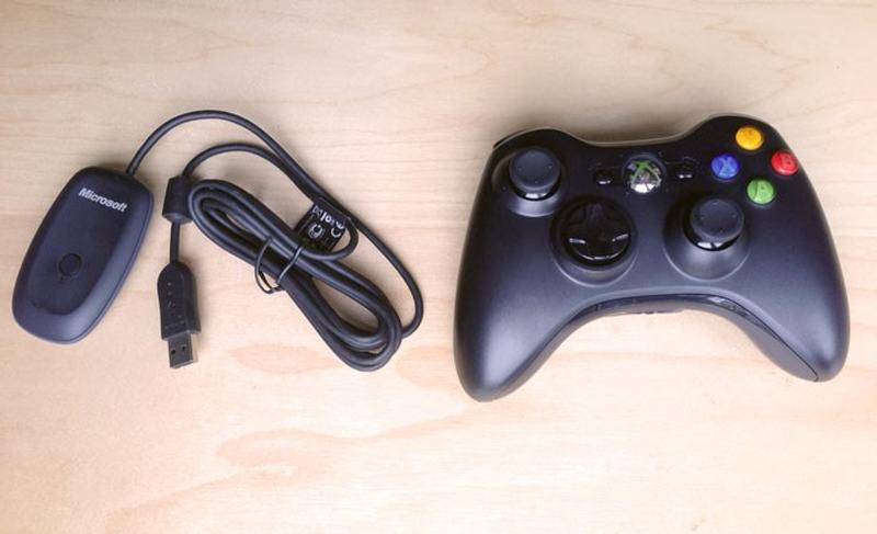 Xbox 360 Wireless Controller + Adapter, Electronics, Others on Carousell