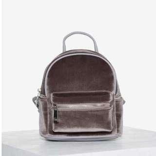 Small Velvet Backpack