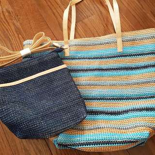 2 New Beach & Shoulder Bag $10
