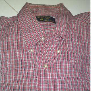 Pennyworth's long sleeve flannel 2nd - maroon