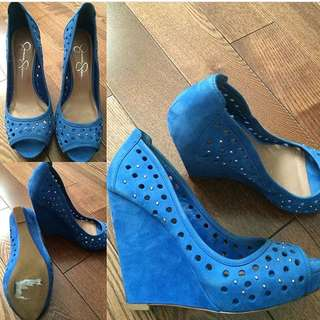 Jessica Simpson Wedge Peep Toes