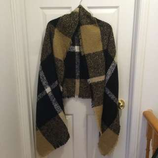 ALDO Plaid Blanket Scarf