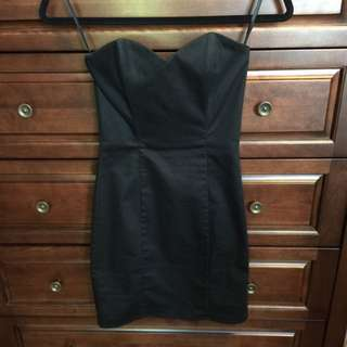 H&M Strapless Bodycon Dress - Sz 2
