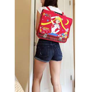 Rare Vintage 1992 Sailor Moon School Bag