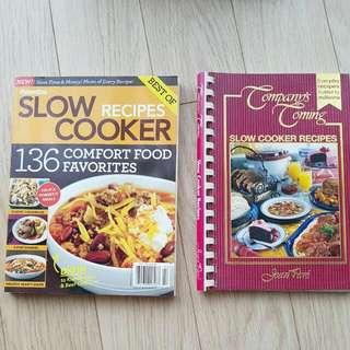 2 Slow-cooker Cookbooks