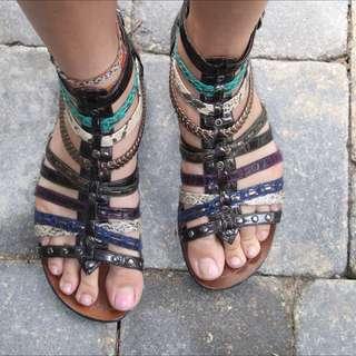 Also Gladiator Sandals