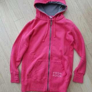 PWDR Room snowboard hoodie