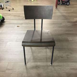 Crate And Barrel Scholar Dining Chairs (sold In 4)