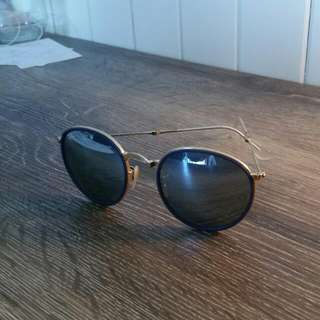 Ray Ban - Gold Folded RB3157