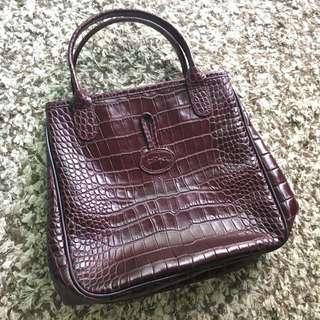 Classic Longchamp Handbag (authentic)