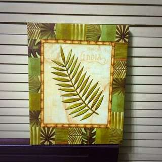 Leaf Wall Decoration Frame