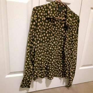Vintage Silk Blouse