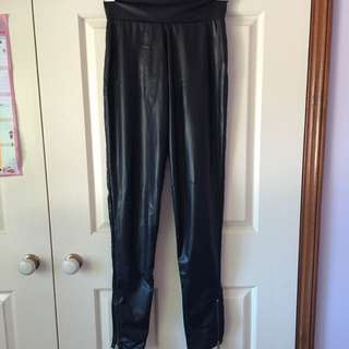 GLASSONS Faux Leather Leggings