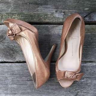 ✨REDUCED✨ Franco Sarto The Artist's Collection Peep Toe Heels