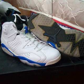0a45f451dc2b Jordan 6 Sport Blue open for trade preferrably AJ1 Chicago Low.
