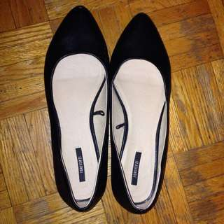 Black Flats from F21 (Size 8.5)