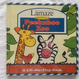 "Lamaze ""Peek-a-Boo Zoo"" Book"