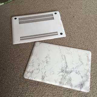 "Marble-look Macbook Pro 13"" Cover"