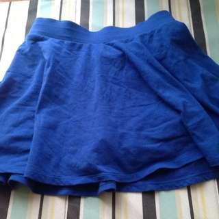 Lativ寶藍褲裙