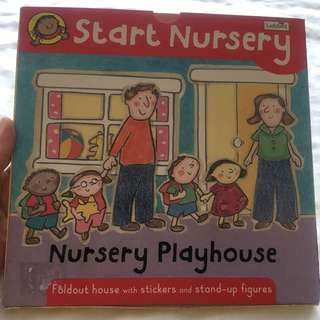 Nursery Playhouse (Children's Pop-Out and Play Book)