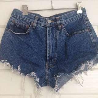 Vintage Jag Denim Shorts